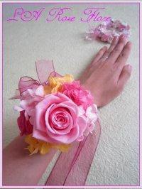 お花のブレスレット