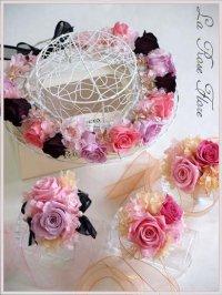 花冠&ブレスレットのセット
