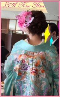 和装用ヘッドドレス&ヘアピンのセット