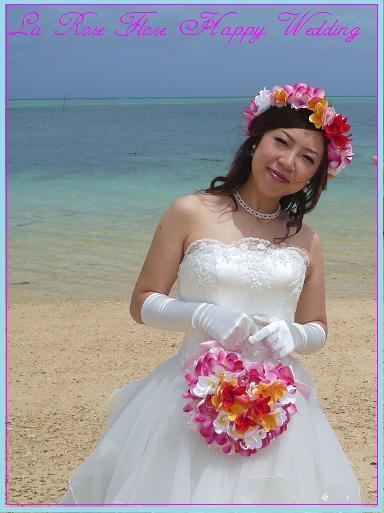 画像1: プルメリアの花冠