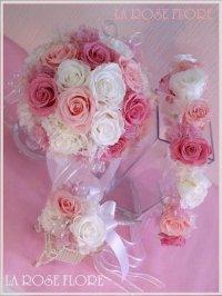 プリンセスブーケ&花冠のセット