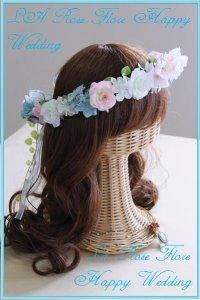 アーティフィシャルフラワーの花冠