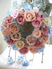バラのドアリース