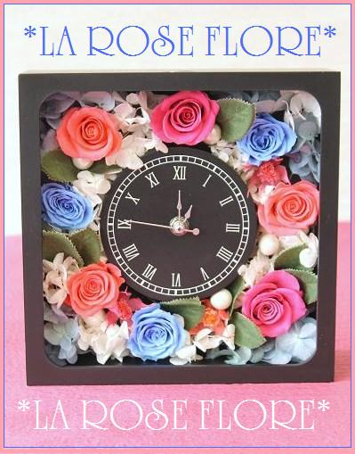 画像1: 花時計 ブラック