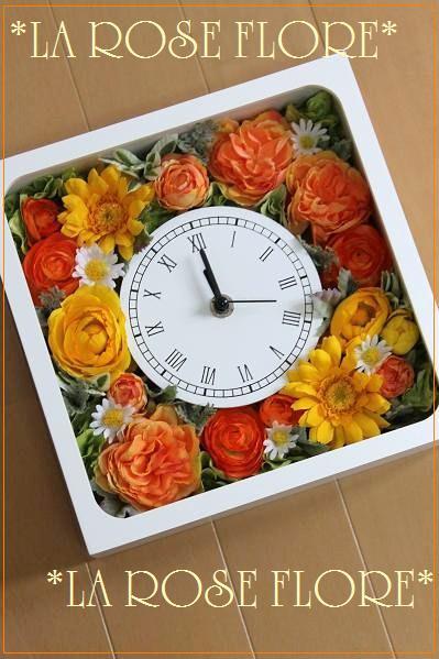 画像1: 花時計 アーティフィシャルフラワー